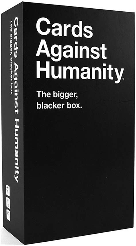 Check spelling or type a new query. Cards Against Humanity (Bigger) Bigger Blacker Box, Card Game | Sanity