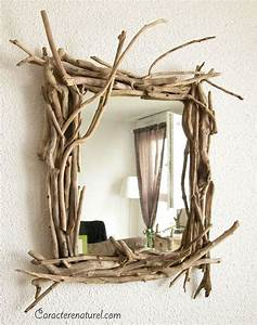 Miroir Bois Flotté : miroir en bois flott art culture mode musique pinterest miroir en bois flott miroir ~ Teatrodelosmanantiales.com Idées de Décoration