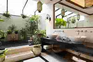 la tendance deco du moment est aux plantes vertes vous With salle de bain design avec décoration tropicale anniversaire