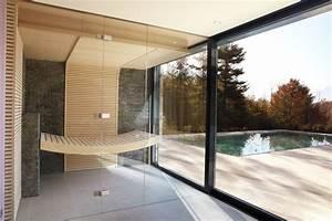 Sauna Für Badezimmer : schwebend wirkende saunaliege modern badezimmer ~ Watch28wear.com Haus und Dekorationen