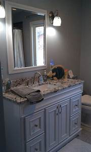 gray and blue bathroom bathroom design pinterest With blue and gray bathroom designs
