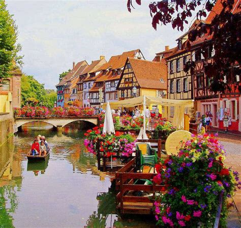 Village Of Fun Colmar France  Most Beautiful City In Europe