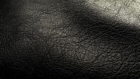 Black Leather Background Black Leather Texture Background Stock Footage Black
