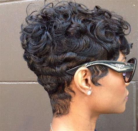 african american hairstyles short cut curls finger