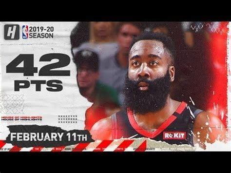 James Harden 42 Pts Full Highlights | Celtics vs Rockets ...