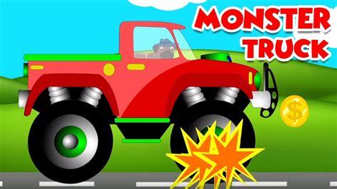 childrens monster truck videos monster truck videos monster truck stunts and games