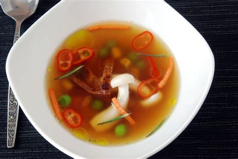 bouillon cuisine bacon infused broth recipe amazing food made easy