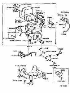 Toyota Camry Hose  Flexible  Brake  Which  System