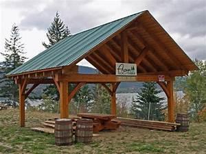 DIY Timber Frame Carport Plans Download carport with