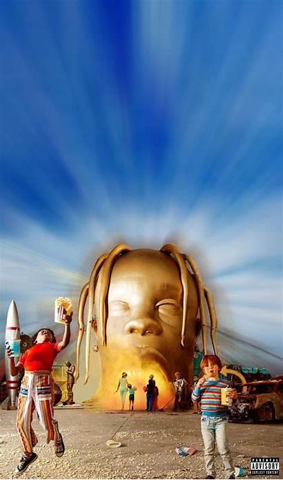 Travis Scott Wallpapers Trippy Rapper Iphone Astroworld