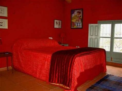 Candy Apple Red Paint Color In My Romantic Bedroom
