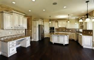distressed white kitchen island 35 beautiful white kitchen designs with pictures designing idea