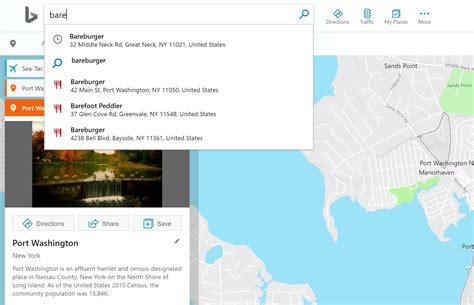 Recent Searches Now Available in Bing Maps Autosuggest ...