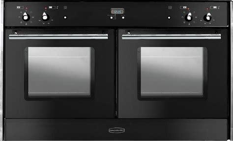 built in range cooker rangemaster toledo freestyle oven black with chrome