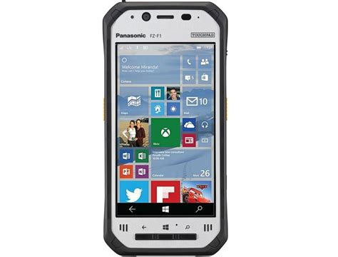 smartphone for panasonic reveals its rugged windows 10 mobile smartphone