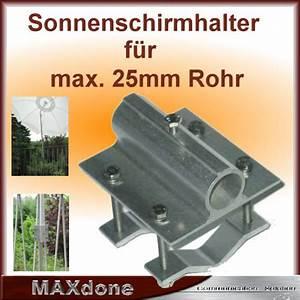 Balkon Sonnenschirm Mit Halterung : sonnenschirm balkon halterung alu ebay ~ Bigdaddyawards.com Haus und Dekorationen