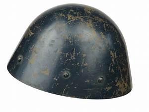 Original, Wwii, Czech, Vz32, Luftschutz, Helmet