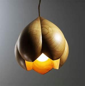 Wood - Furniture biz Photos Flower Lamps by Laszlo Tompa