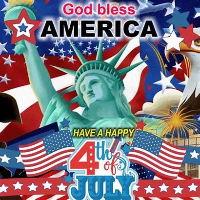 4th July Happy America Patriotic Borden Fourth