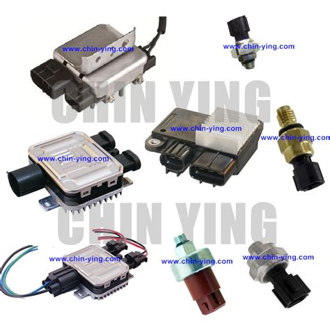 jaguar  type cooling fan control unit module relay radiator coolant fan control modules