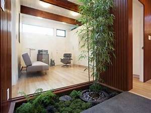 Bambou En Pot Pour Terrasse : plantes vertes et bambou sur une terrasse jardin zen ~ Louise-bijoux.com Idées de Décoration