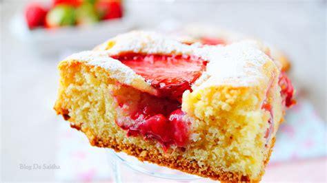 jeux de aux fraises cuisine gateaux gâteau moelleux aux fraises aux délices du palais