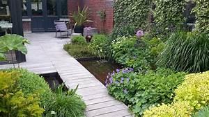jardin de ville et terrasse a lambersart 59 nord With marvelous eclairage allee de jardin 10 amenagement allee de jardin architecte paysagiste
