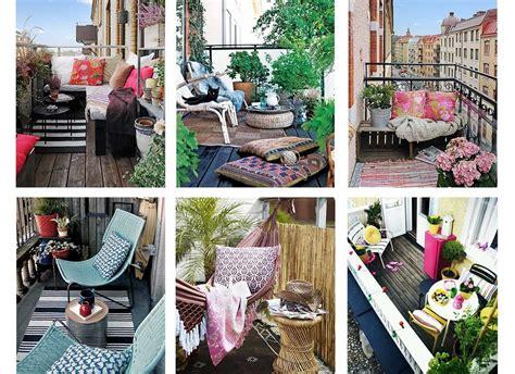 idees de decoration pour petit balcon une hirondelle