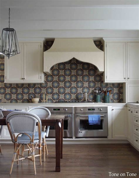 moroccan tile kitchen tone on tone morocco reflections and a kitchen 4281
