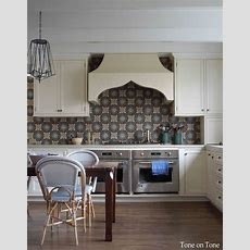 Tone On Tone Morocco Reflectionsand A Kitchen