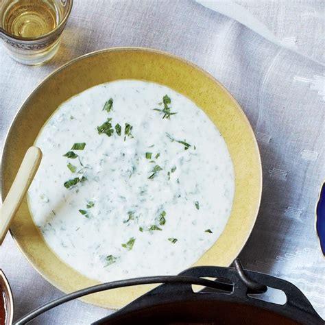cilantro yogurt sauce recipe epicuriouscom