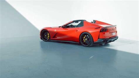 Even ferrari leaves a little performance on the table when a car leaves maranello. Ferrari 812 GTS: ecco la versione di Novitec - AlfaVirtualClub