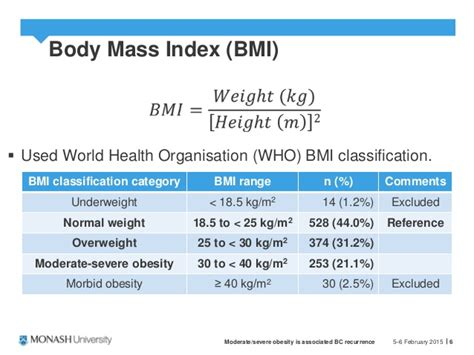 bc recurrence  obesity ysc robinson