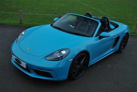 Used porsche 718 from aa cars with free breakdown cover. Used Miami Blue Porsche 718 Boxster for Sale | West Sussex