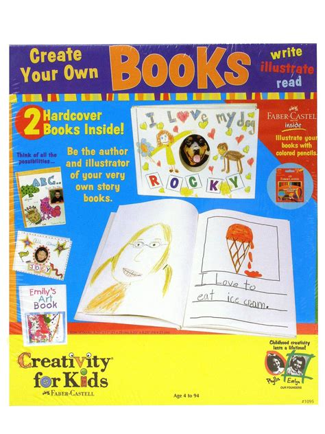 Creativity For Kids Create Your Own Books Misterartcom