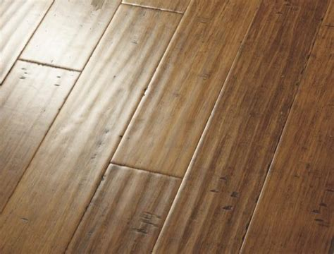 Carbonized Strand Bamboo Flooring by China Handscraped Strand Woven Bamboo Flooring Hsw02