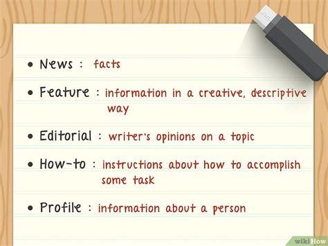 Cómo Escribir Artículos 28 Pasos (con Fotos) Wikihow