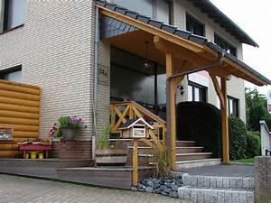 Vorbau Für Hauseingang : terassen berdachungen terassen und holzbalkone saunabau carportanlagen fassaden vord cher ~ Sanjose-hotels-ca.com Haus und Dekorationen
