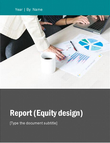 report equity theme