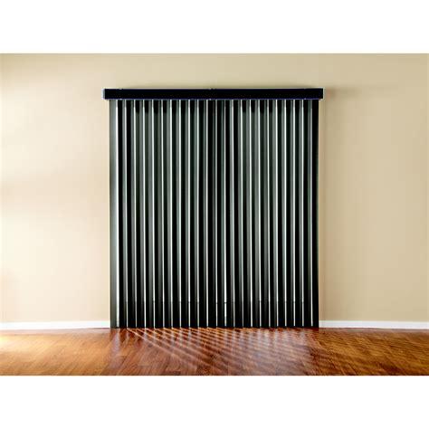 vertical blinds lowes shop custom size now by levolor espresso vinyl vertical
