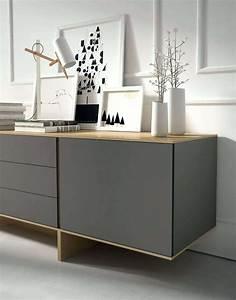 Designer Sideboard Hochglanz Sideboard In Wei Mit