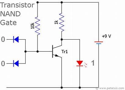 Nand Gate Circuit Diode Using Logic Gates