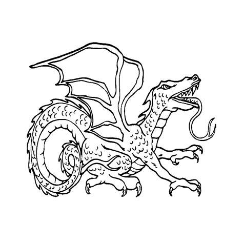 Kleurplaat Elfen Draakjes by Leuk Voor Gevaarlijke Draak
