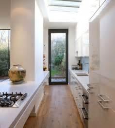 Narrow Kitchen Ideas 31 Stylish And Functional Narrow Kitchen Design Ideas Digsdigs