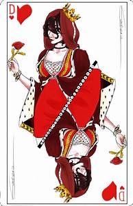 La Reine De Coeur : dame de coeur by estaris on deviantart ~ Nature-et-papiers.com Idées de Décoration