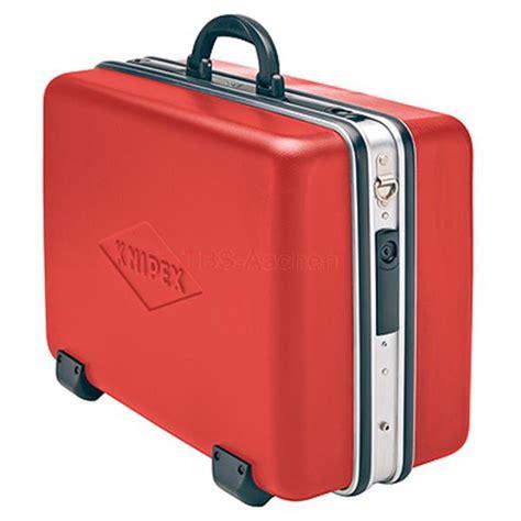 knipex werkzeugkoffer leer knipex 98 99 14 le werkzeugkoffer big rot leer