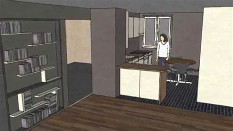 cuisine de 5m2 dessiner une cuisine sketchup
