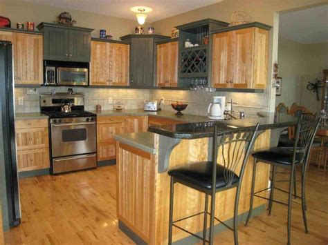Cabinets For Home Office: Small Kitchen Design Ideas Mobile Home Kitchen Remodel