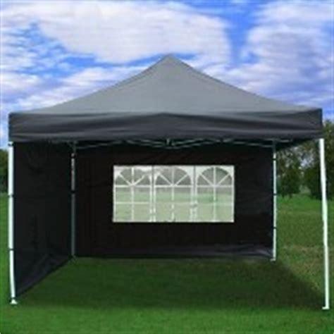 black  ez pop   wall canopy party tent gazebo