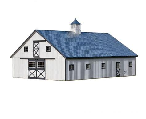 Barn With Black Trim by Amish Built Monitor Barns For Sale In Catskill Ny